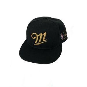 Miller NBA baseball cap.
